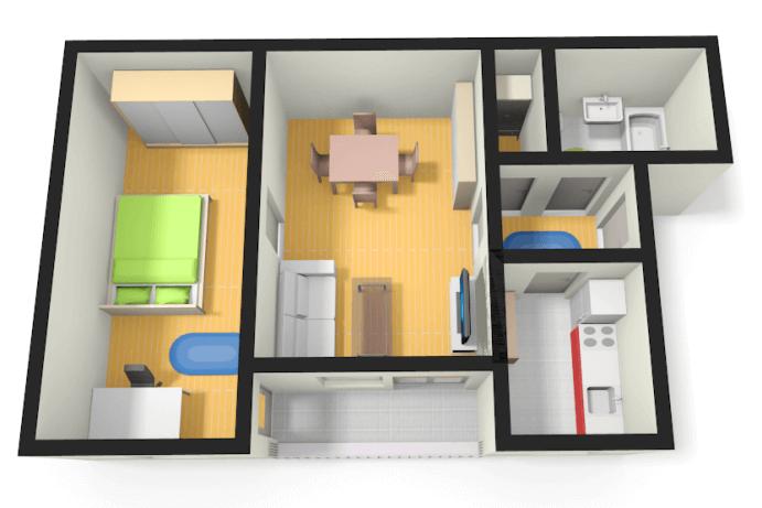 Zimmer Wohnung Mieten