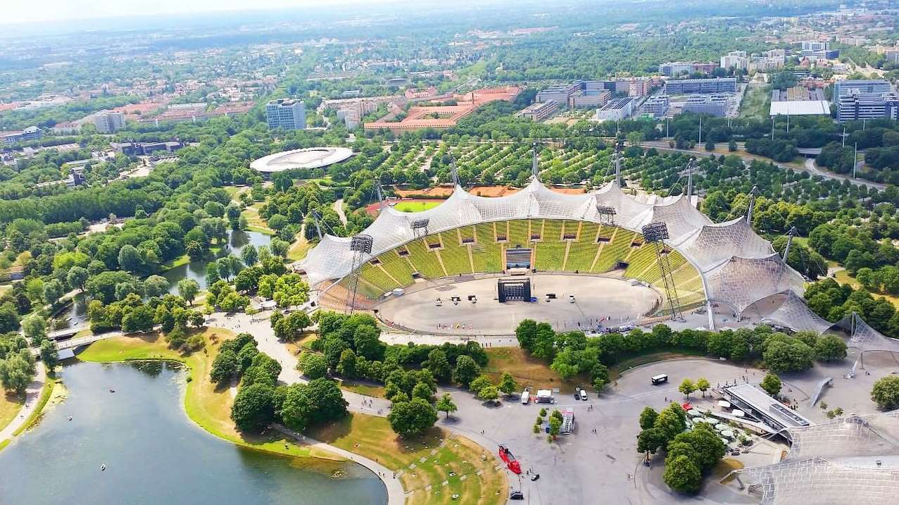 olympiapark olympiastadion olympiaturm m nchen. Black Bedroom Furniture Sets. Home Design Ideas